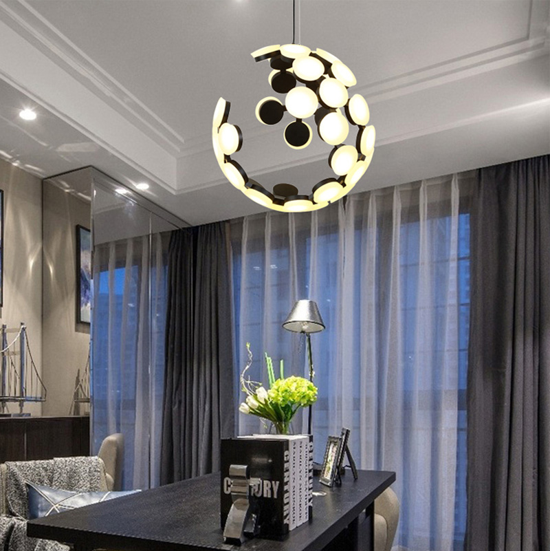 Horsten Nordic Postmodern Creative Pendant Light Art Decoration Personality Dining Room Pendant Lamp LED Hanging Lighting For Cafe Bar (14)