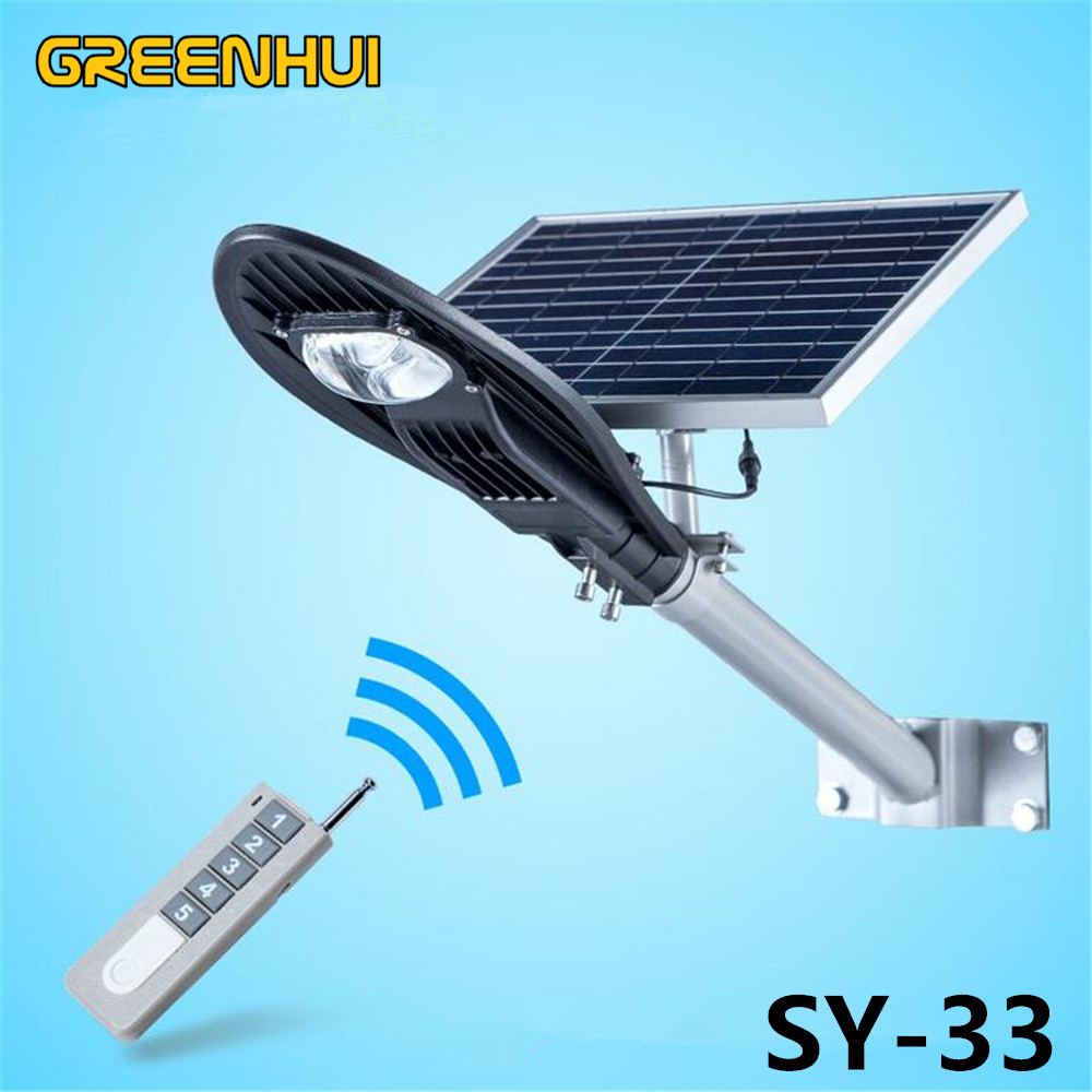 2015NEW Remote control 12W Solar Powered Panel superbright 8W COB LED Street Light Outdoor Garden Path Spot Wall Emergency Lamp<br><br>Aliexpress
