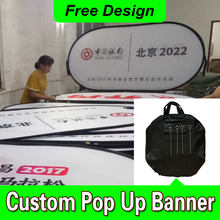 Free Design Free Shipping Horizontal A Frame Banner Outdoor Pop Up Banners A Frame Banner Display(China)