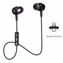 ZIOFEN Wireless Bluetooth Earphone V4.1 Sports Stereo In-ear Earpiece Magnetic Earbuds Built-in Mic for iPhone 7 6S iPad