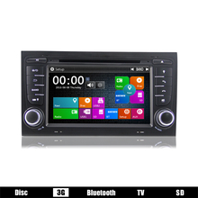 "Brand New free shipping 7"" In-dash Car Radio DVD player with 3G WiFi GPS DVBT DAB+ AM FM RDS fit for audi A4 car DJ7078"