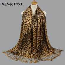 Leopard Print Scarf Wraps For Women 2017 New Fashion Winter Echarpes Femme Scarves Brand Shawl Women's Pashmina Cachecol