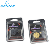 Bicycle Disc Brake Pads for  BB5, Giant, MTB Bike, Promax Disc Brake, 4 Pairs/ORD, Black RESIN