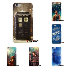 For Samsung Galaxy S3 S4 S5 MINI S6 S7 edge S8 Plus Note 2 3 4 5 Top Tardis Doctor Dr Who Police Box Silicon Soft Phone Case