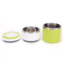 Portable Cute Mini Japanese Bento Box Leak-Proof Stainless Steel Thermal Lunch Boxs For Kids Picnic Container For Food Storage(China)