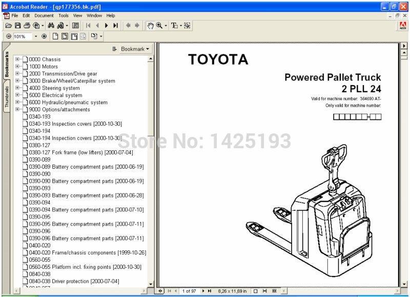 toyota forklift operators manual pdf