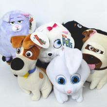 New 1PC Cartoon Animals Dog Rabbit Stuffed Toys Gift Buddy Chloe Pets Plush Toys