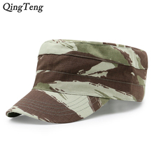 Digital Camo Cap Casquette Camouflage Hats For Men Flat Cap Blank Plain Camo Hats Army Outdoor Baseball Cap Snapback Hip Hop Men(China)