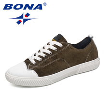 BONA New Arrival Popular Style Men Walking Shoes Outdoor Trekking Sneakers Lace Up Men Athletic Shoes Comfortable Free Shipping