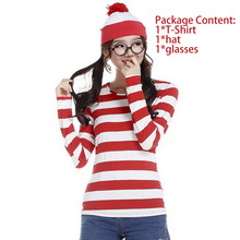 Tengeio Christmas Red And White Striped Bottoming Shirt Autumn Women Fashion Long Sleeve T-Shirt O-Neck Tee Shirt Femme SJMRW