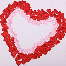 High Quality wedding flower heart throwing heart petals 1000pcs 2cm marriage bed and marriage room decor adornment decor 7zHH200