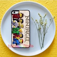lego ninjago kai 4 original cell phone case cover iphone 4s 5 5s se 5c 6 plus 6s 7 *gG124 - Navan Style store