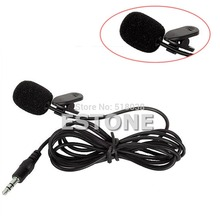 Electronic   3,5 mm-Handle Clip Mini Ansteck Mic Mikrofon for PC Notebook Laptop