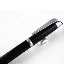 Design wholesale Metal pen black Metal Short roller ballPens