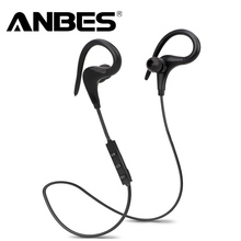 ANBES Bluetooth Headsets Wireless Sport Bluetooth 4.1 Earphones with Mic Noise Cancelling Headphone for Xiaomi iPhone LG Samsung(China)