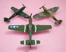 1: 100 alloy fighter model toys, high imitation World War II military fighter, wild horse ME-109, wholesale