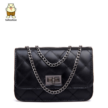 Beibaobao chain women bags ladies women messenger bags famous brand cross body women's pouch high quality leather purse b004/b(China)