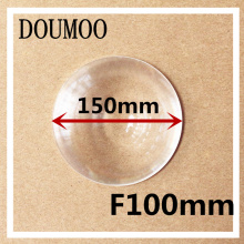 1 pcs / lot free shipping Plane magnificat fresnel lens Diameter 150 mm Focal length 100 mm lens diy plastic fresnel lens(China)