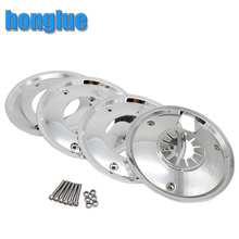 honglue Motorcycle Scooter Modified Plating Wheel Cover for HONDA YAMAHA SUZUKI 10-inch drum brake wheel installation(China)