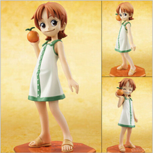 Anime One Piece POP Nami Childhood ver. PVC Action Figure Collectible Model Toy Doll 11cm KT459