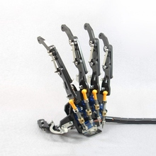 High Quality DIY 5DOF Robot Five Fingers Metal Mechanical Paw Left and Right Hand RC DIY Robot For Chidren Gift