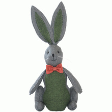 45 cm Cute rabbit toy big ears plush rabbit doll Easter gift(China)