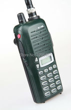 Green IC-V8 waterproof walkie talkie VHF 136-174MHz 5.5W 100 Channels DTMF Encoder Marine Two way Radio