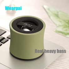 Original Wearpai wp6.0 color super sound effects heavy bass bluetooth speaker hand free with FM function bluetooth speaker