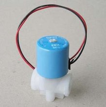 Free Shipping 10PCS/LOT 1/4'' Water Dispenser Purifier Solenoid Valve PP 24VDC Drinking Water Solenoid Valve(China)