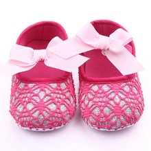 Baby Shoes Girls Pre walker Butterfly Soft Sole Toddler Shoes Primer Walker