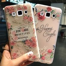 KaiNuEn soft coque,cover,case Samsung galaxy a3 3 a300 2015 silicone etui silicon luxury 3d original tpu phone back cases