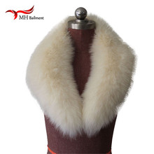 Women Real Fox Fur Collar Winter Scarf Women and Men Fox Fur Collar for Coat Can Hooded scarves winter Warm Scarf Shawl L#18