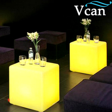 RGB Bright LED Light Cube Tables chairs VC-A400