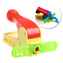 2017  Ptrrty Helpful Dough Plasticine Craft Clay Extrusion Mold Tool Set Kids Learn Play Toys  APR28_17