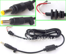 2PCS 1.2M 4.8mmx1.7mm DC Power Plug Cord cable For Asus Sharp HP Laptop Notebook