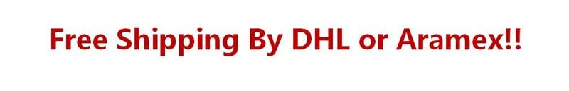 DHL free shipping