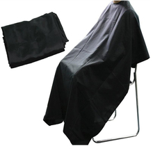 Hot Black Professional  kappers Barber cape Hairdresser Hair Cutting Gown  kappers barber Apron Waterproof Barber Cloth LT01140