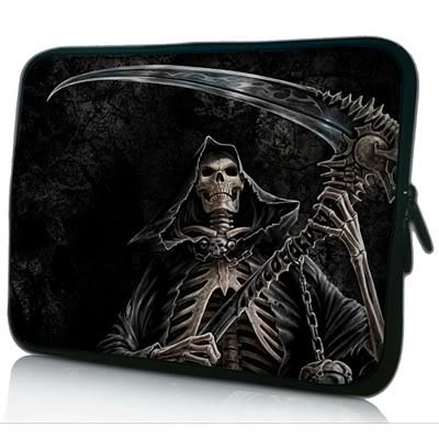 14 Skull Laptop Sleeve Case Notebook Bag Cover Pouch For 14 HP Pavilion,Sony VAIO,Dell XPS 14,Dell Alienware M14x PC<br><br>Aliexpress