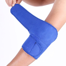 1PCS Adjustable Neoprene Elbow Support Wrap Brace Sports Injury Pain Protect Winding Tape Sports Safety