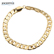 Gold Color Bracelets Stainless Steel Bracelets For Women Men Jewelry  for Bangle Male Accessory Wholesale