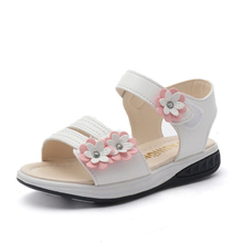 Buy COZULMA Girls Summer Sandals Kids Girls Princess Dress Shoes Toddler Children Roman Beach Sandals Gladiator Shoes 3-14 Years Old for $9.84 in AliExpress store