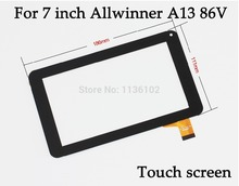 "New 7"" inch tablet pc case for 7 inch 86V Allwinner A13 Capacitive Touch Screen with Glass Digitizer Free Shipping(China)"