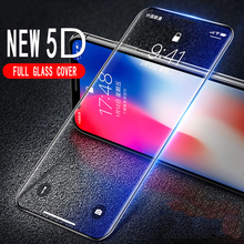 Buy Intereen 5D Full Tempered Glass iPhone X 10 Glass Screen Protector Apple iPhone X 10 Full Glass Cover Protective Film for $2.99 in AliExpress store