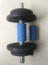 S size Thick Grip Barbell Grips and Dumbbell Grips-Ultimate Arm Builder, Intensify Forearm, Bicep, Tricep, and Chest blue