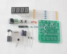 New Arrival 1set Digital Electronic C51 4 Bits Clock Electronic Production Suite DIY Kits Hot Selling