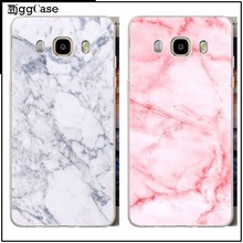 Phone Case Marble Image Painted Back Cover Coque  For samsung A3 A5 A7 J5 J7 2015 S3 S4 S5 mini S6 S7 edge S8 Plus Case Capa