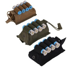 4 Rounds Tactical Hunting Ammo Shotgun Shell Holder Carrier Shooters Forearm Sleeve Mag Pouch