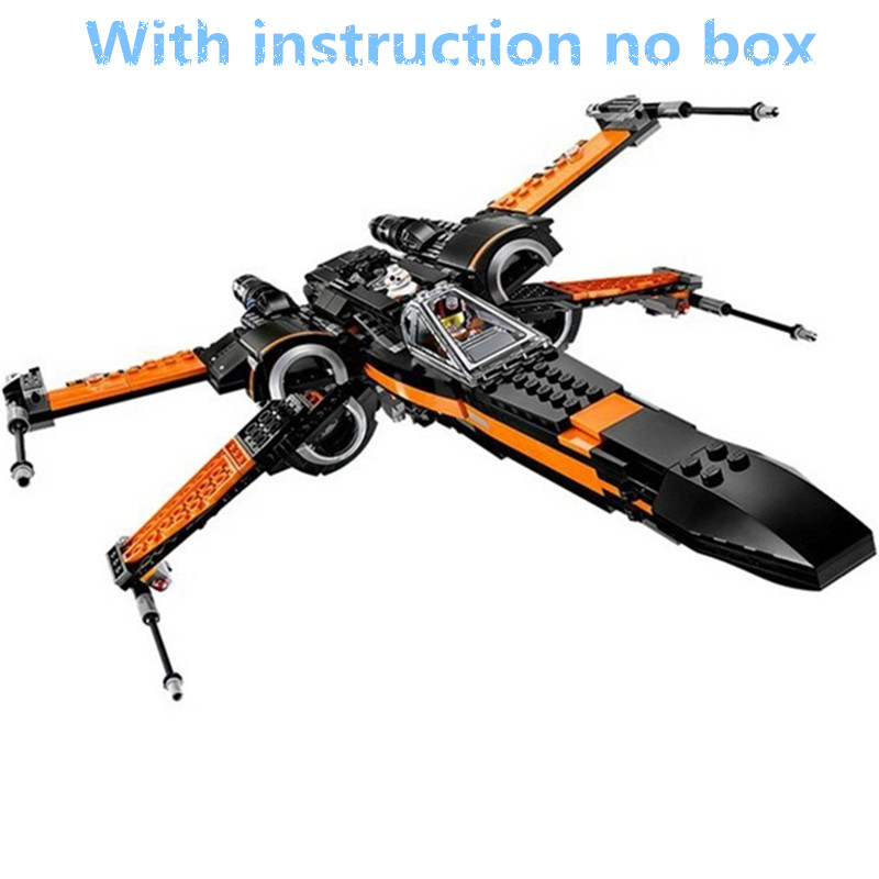 748Pcs LEPIN 05004 Star Wars First Order Poes X-wing Fighter Building Blocks Compatible With  75102 STAR WARS Bricks Toy<br><br>Aliexpress