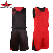 2017 New Double-sides Wearing men basketball jersey, Ultra-light Breathable Training Sport Jerseys, Reversible Basketball Jersey