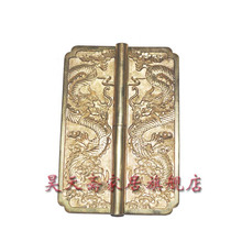 Copper top cabinet Chinese antique copper hinge hinge thickening HTF-069 nickel alloy